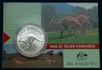 Australien - One Dollar Silver Kangaroo 1998 - 1 Oz Silber Blister