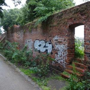 Reste der Stadtmauer, Altstadt Rathenow