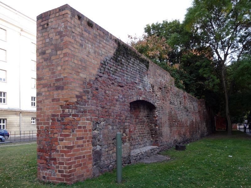 Mittelalterliche Stadtmauer Berlin