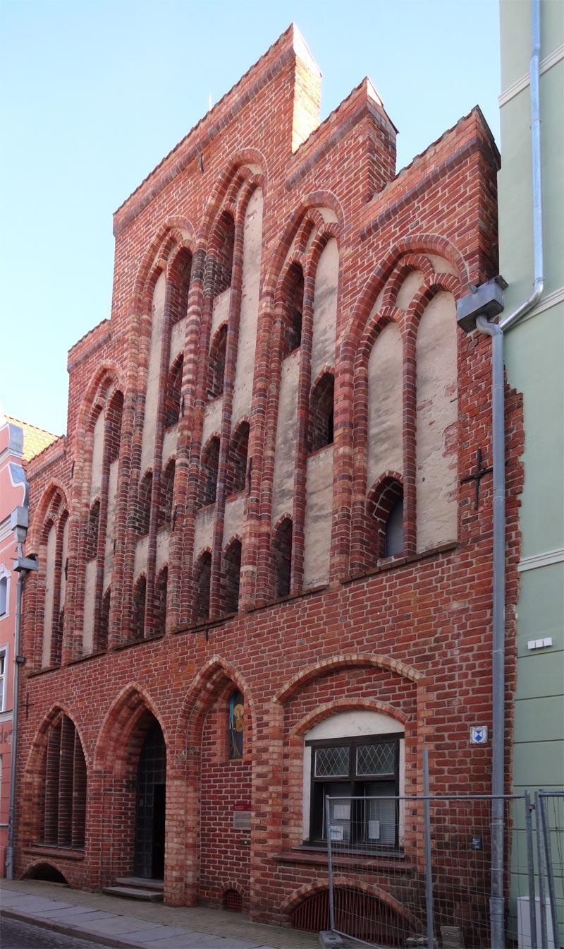 Giebelhaus, Frankenstr 28 in Stralsund