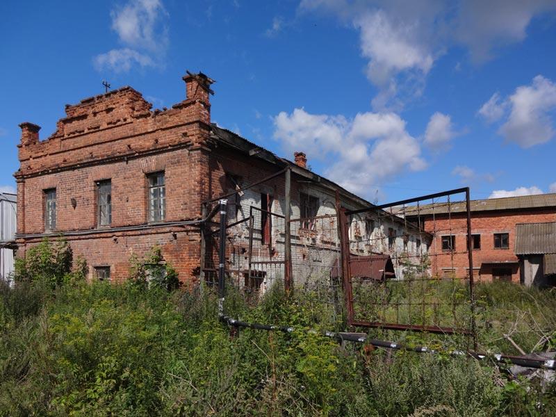 Wirtschaftsgebäude, Herrenhaus von Kaufmann A.L.Vojtechov