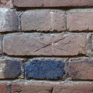 Zählmarke diagonales Kreuz