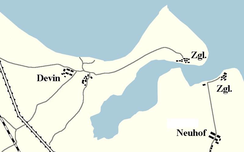 Halbinsel Devin, Ziegelei