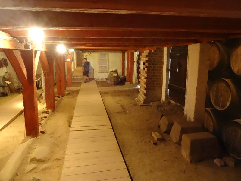 Der mittlere Kellerraum