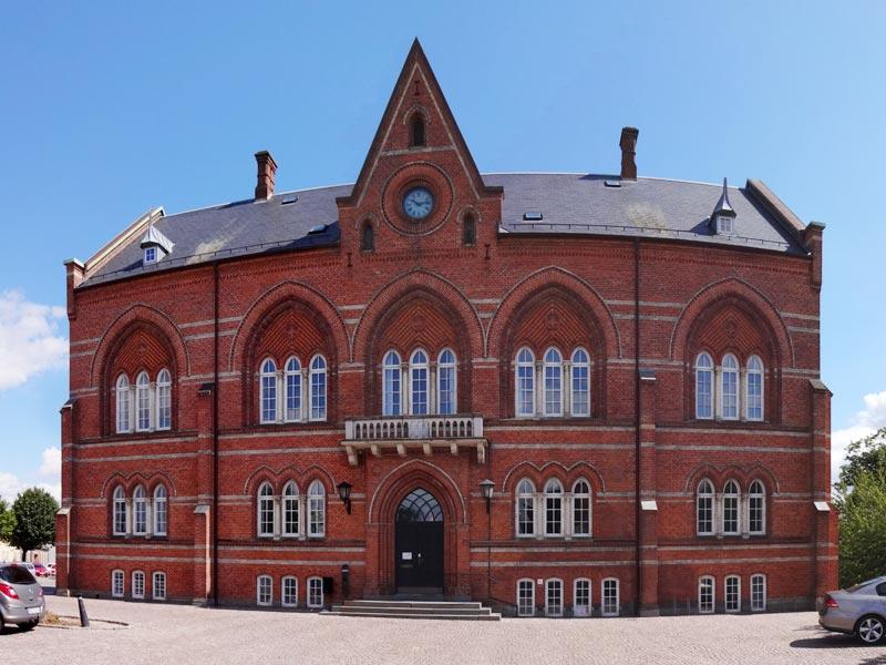 Ehemaliges Rathaus Svendborg, Rådhuset, Tinghusgade