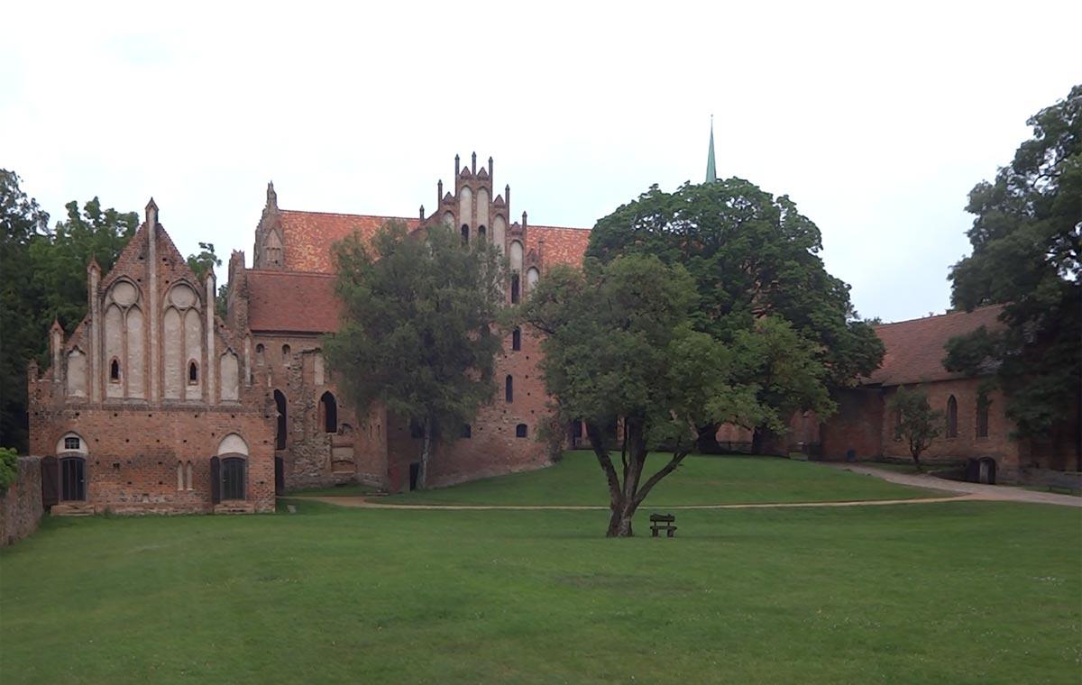 Ruine des ehemaligen Zisterzienser Kloster Chorin