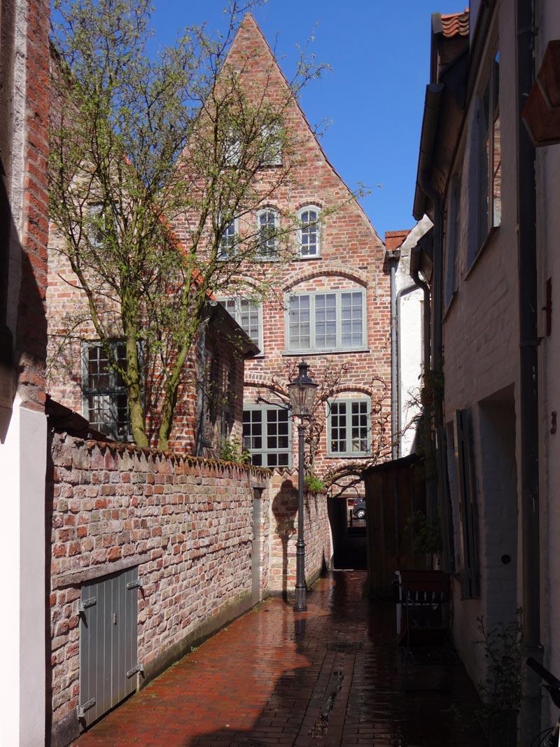Bäcker-Gang Nr. 43 in Lübeck
