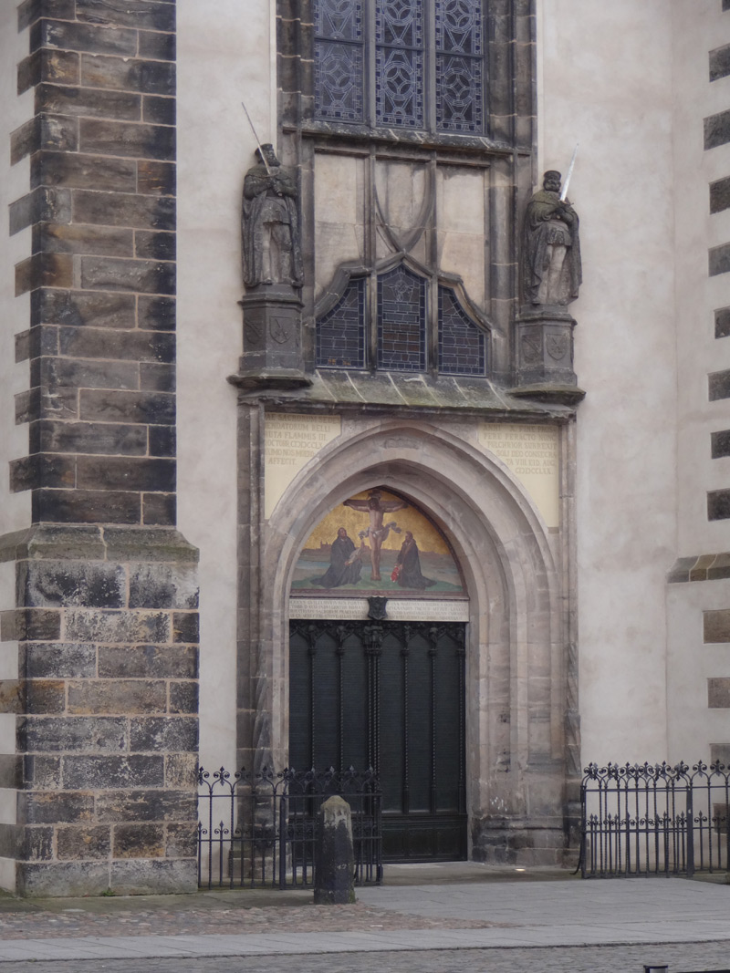 Tür - Schlosskirche zu Wittenberg